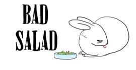 bunny bad salad