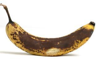 Ripe banana + cinnamon (not pictured